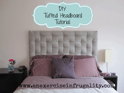 Diy Tufted Headboard Tutorial An Exercise In Frugality