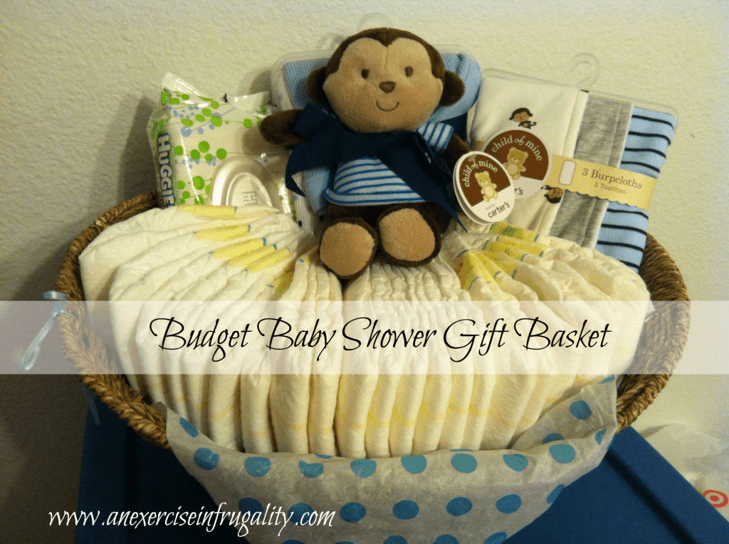 Baby Gift Delivery Ideas : How to make a budget baby shower basket an exercise in