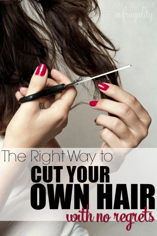 how to make your own hair styling wax how to cut your own hair an exercise in frugality 6149