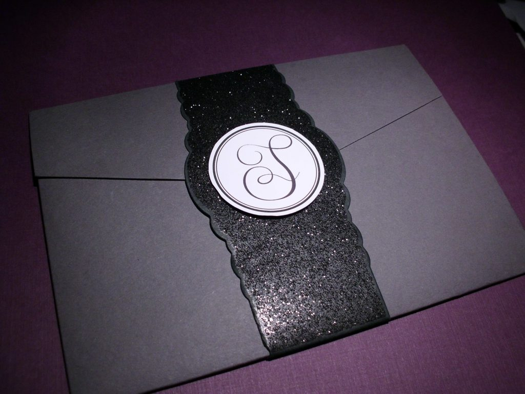 Gray-purple-pocketfold-wedding-invitation