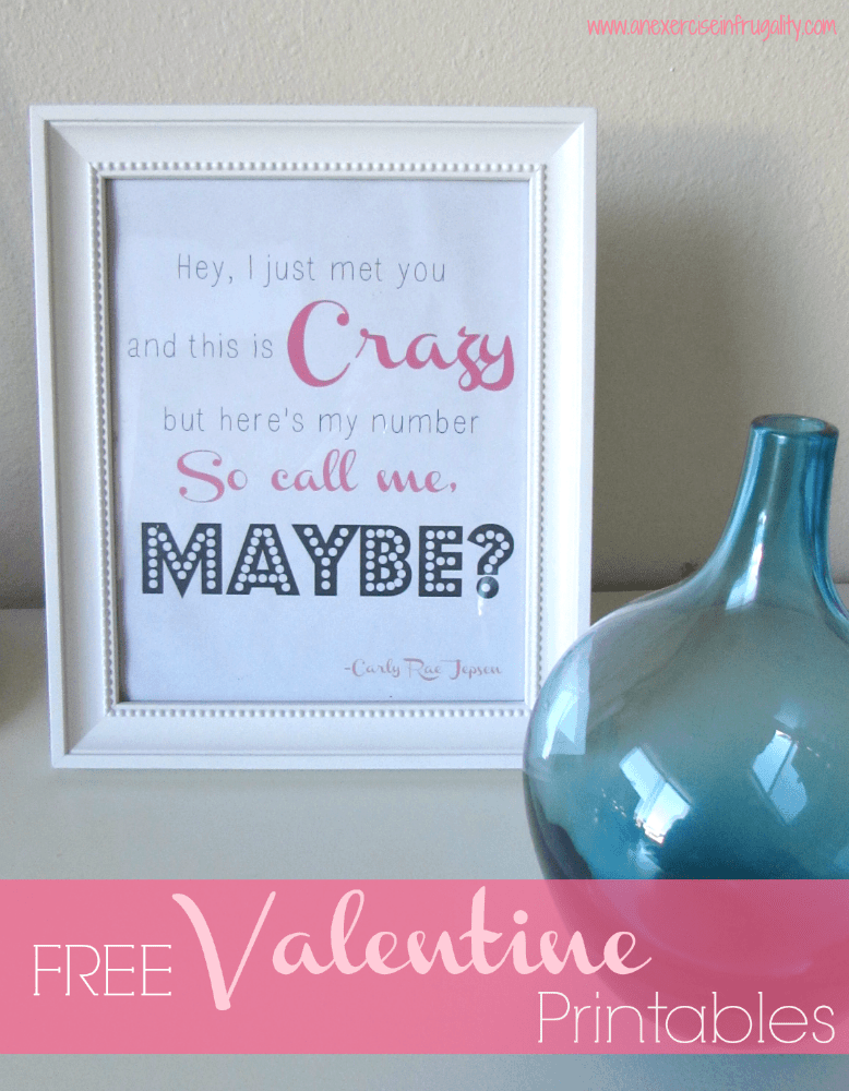 Free Funny (Slightly Adult) Valentine's Printables