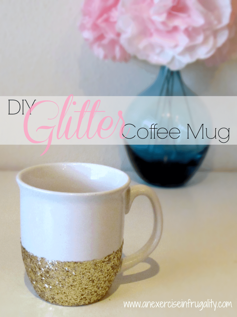 DIY Glitter Mug Tutorial