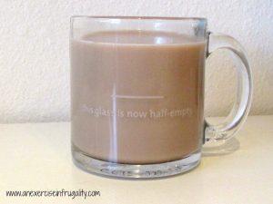 Pessimist mug back