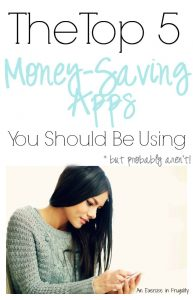 The top 5 money saving apps you should be using but probably aren't!