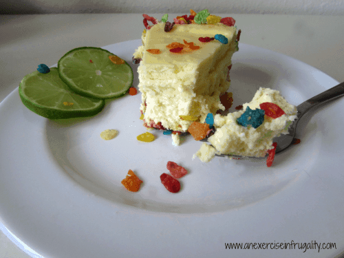 Key Lime Cheesecake with Fruity Pebbles Recipe