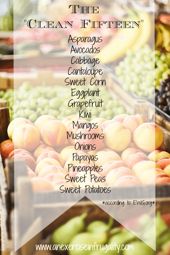 The Clean Fifteen