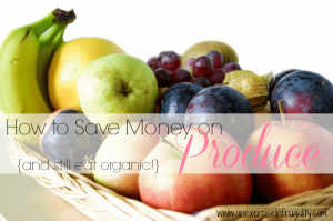 How to Save on Organic Produce