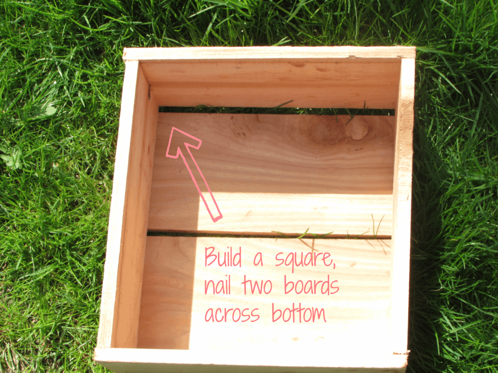DIY Cedar Planter Top