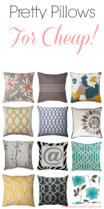 Throw Pillows Under 20 Dollars