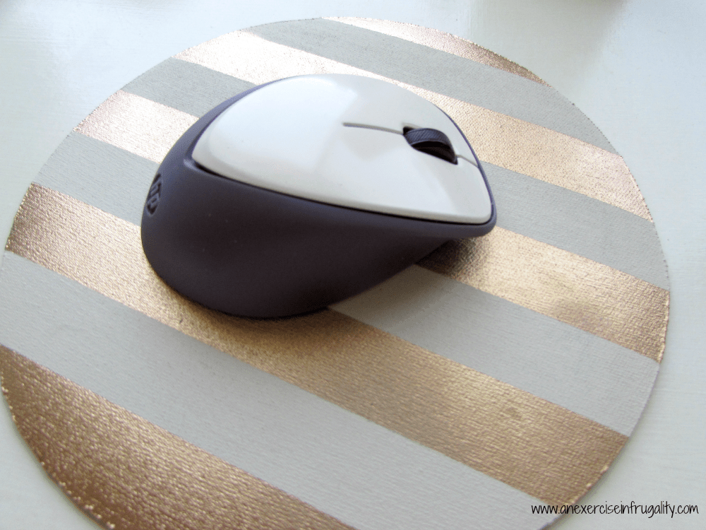Gold Stripe Mousepad 8