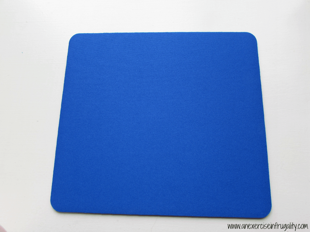 Gold Stripe Mousepad Before