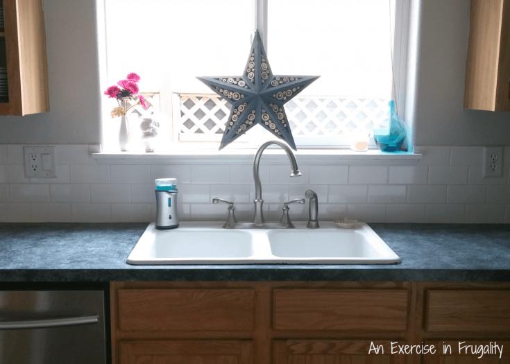 Kitchen Makeover Series Part 1: Subway Tile Backsplash