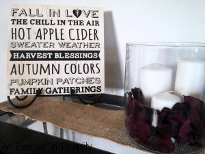 Fall Vinyl Wall Art
