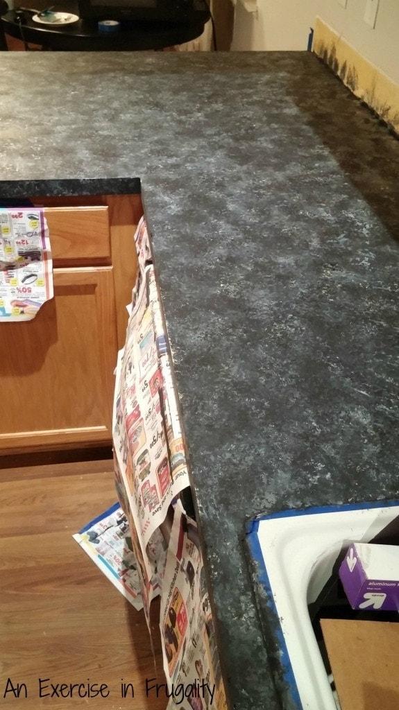 Giani Granite Countertop paint take 1