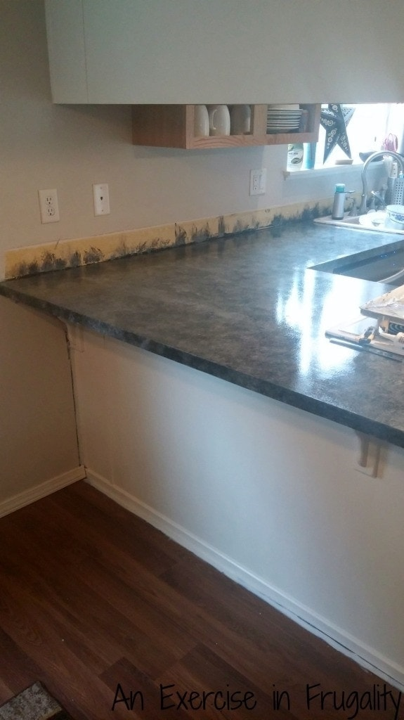 Giani Countertop Paint At Lowes : Faux Granite Painted Countertops Guest Post By Creative Kristi ...