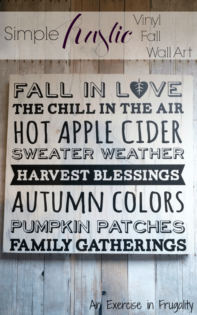 Rustic Fall Wall Art