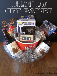 Guardians of the Galaxy Gift Basket
