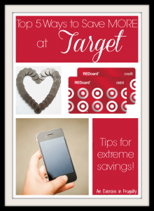 Top 5 Ways to Save Money at Target