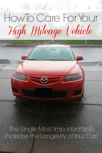 How to Care for Your High Mileage Vehicle