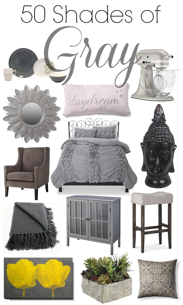 Fifty shades of grey for your home an exercise in frugality 50 shades of grey house