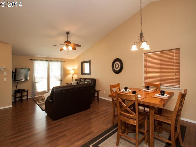 tan dining room