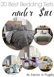 20 Best Bedding Sets Under $100