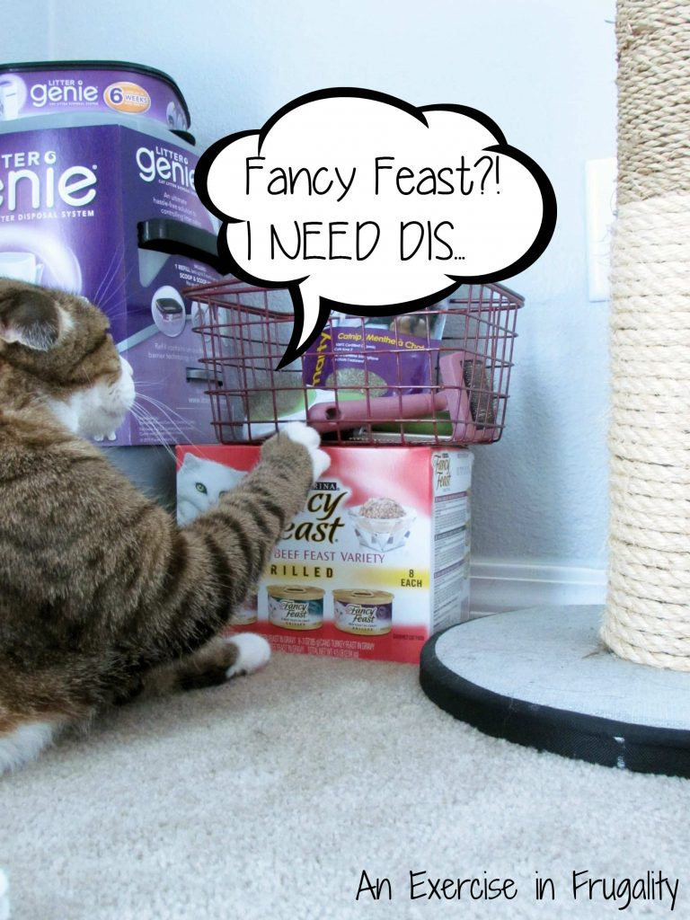 Litter Genie Fancy Feast