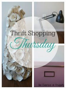 Thrift Shopping Thursday: Office Decor