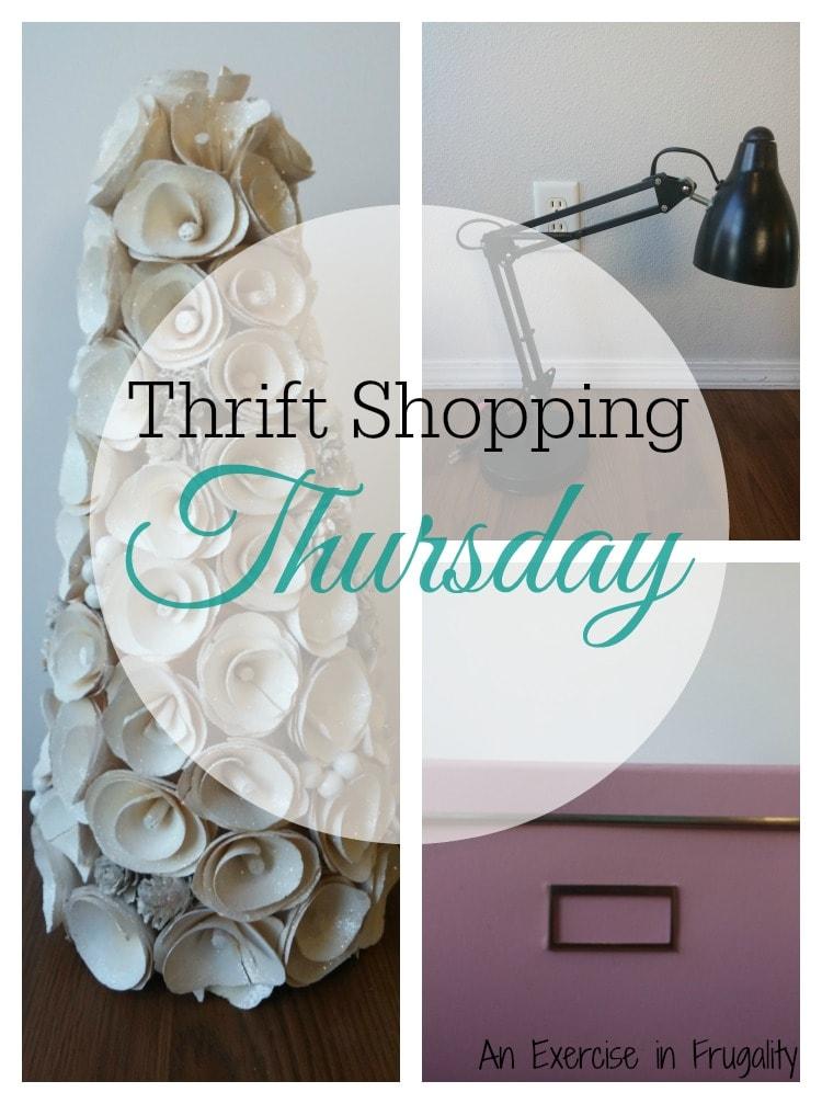 Thrift Shopping Thursday Office Supplies