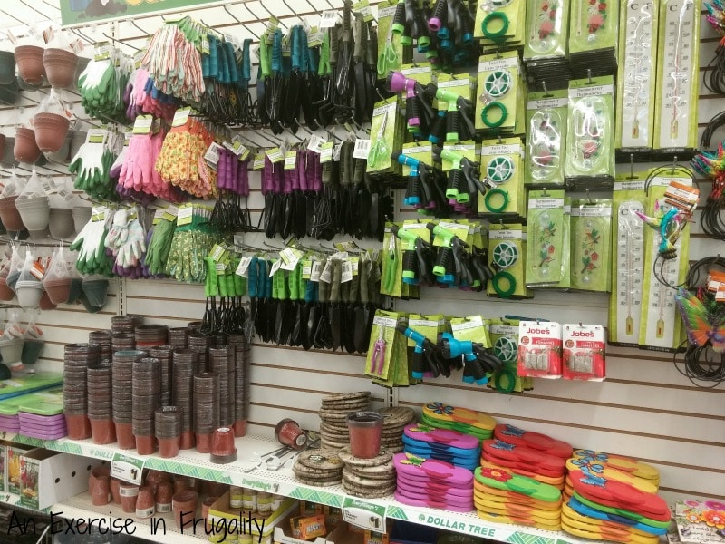 Dollar Tree gardening tools