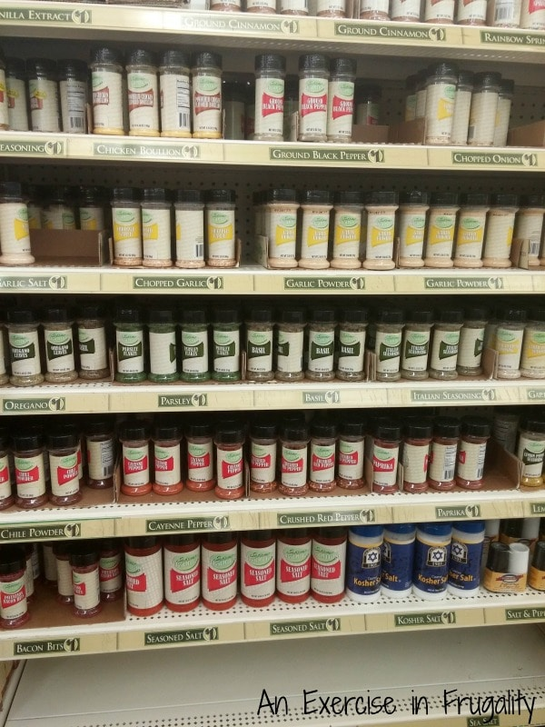dollar tree grilling spices and condiments