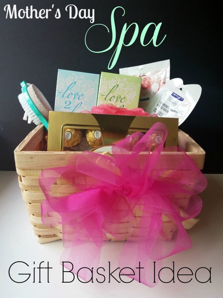 Mother's Day Spa Gift Basket Idea