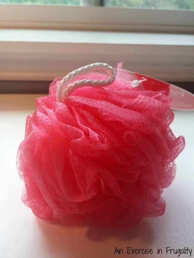 Spa Gift Basket Shower Pouf