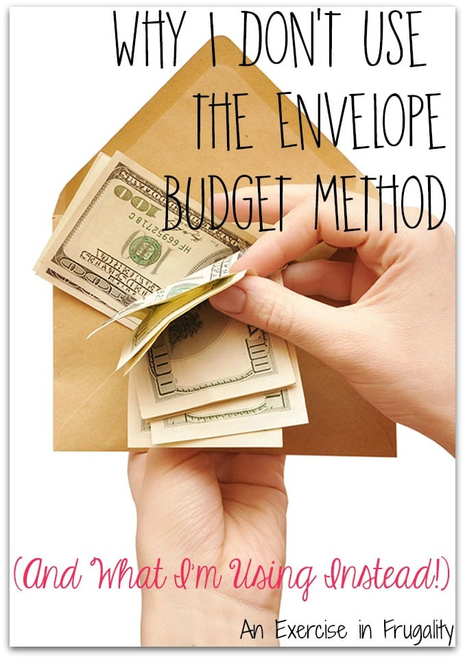 envelope budget method Visa