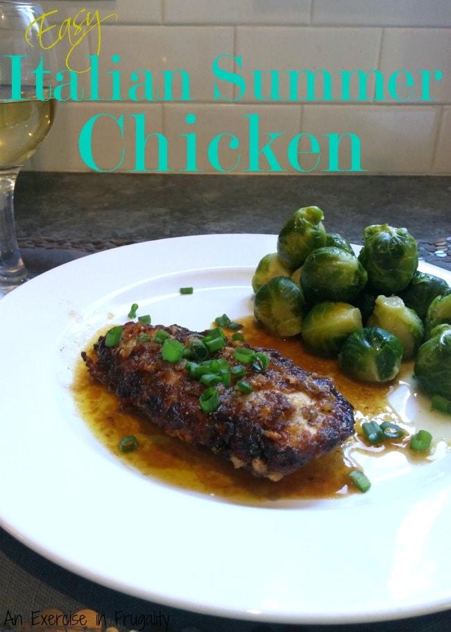 Easy Summer Italian Chicken