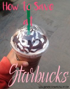 How to Get Starbucks for 50-75% off Without Coupons!