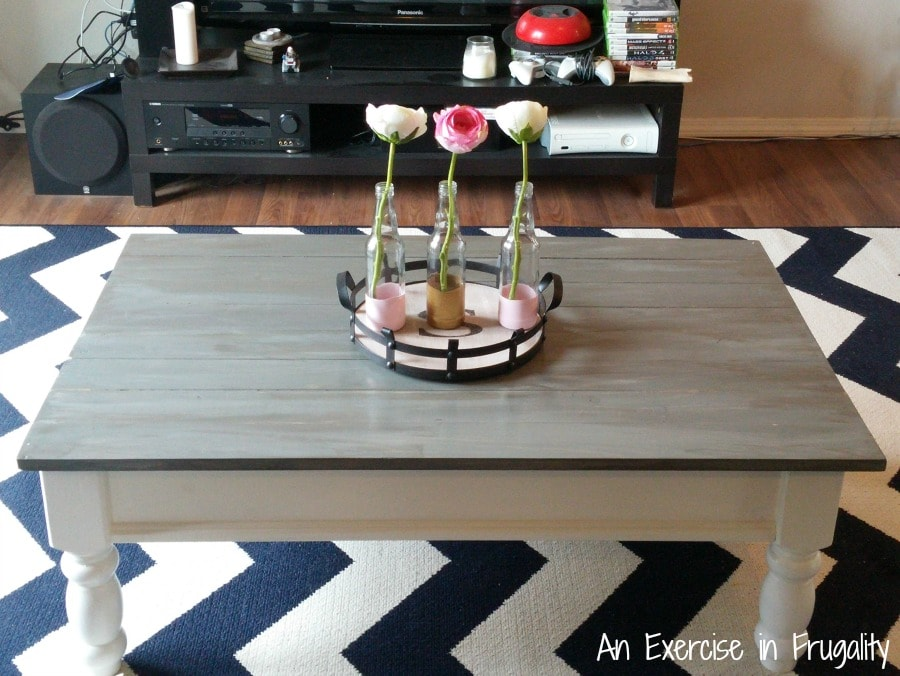 Diy Barnwood Restoration Hardware Inspired Coffee Table Hack An Exercise In Frugality