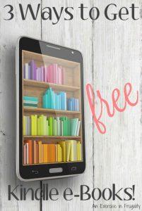Free Kindle Books 3 Ways