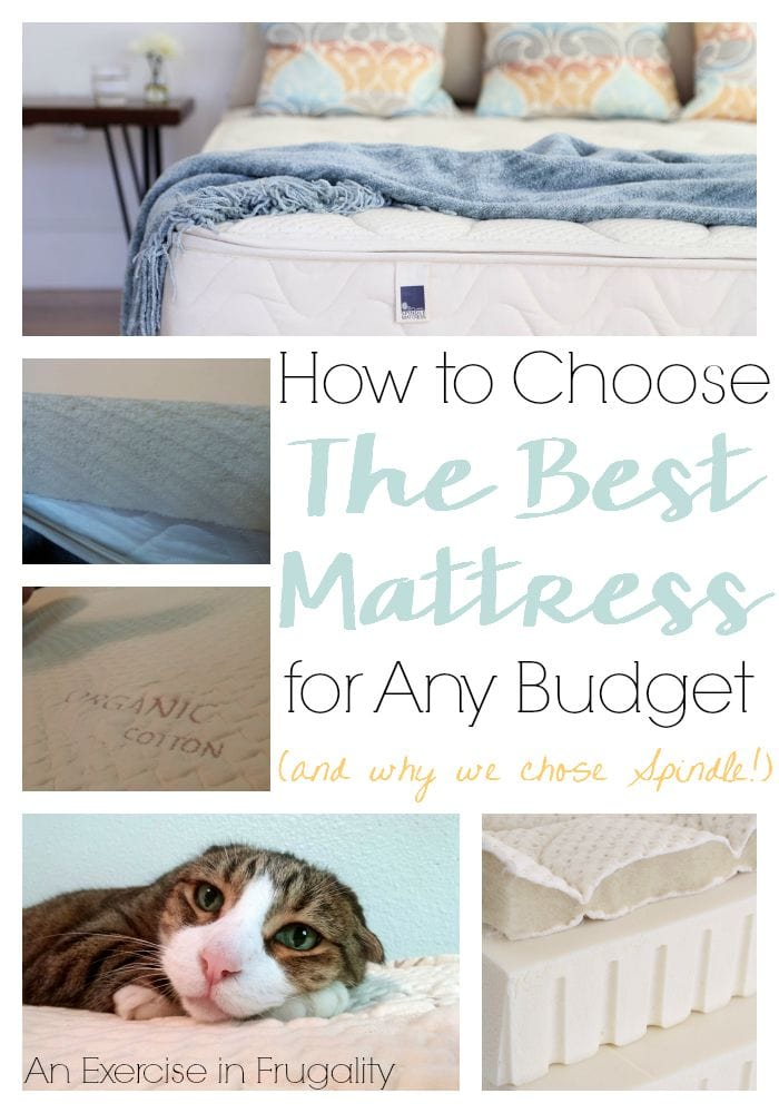 how to choose the best mattress Spindle