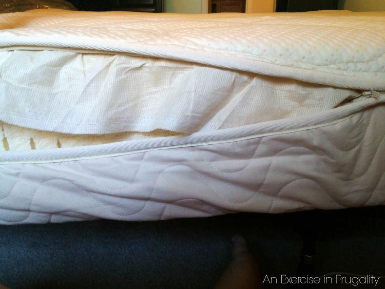zippered mattress natural latex