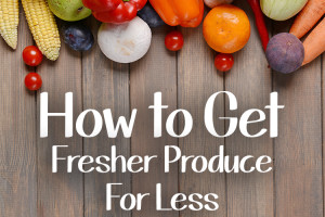 Saving Money on Produce with a Co-Op
