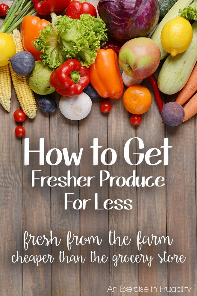 save money fresh produce co-op