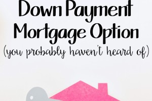 The 0% Down Payment Mortgage Option
