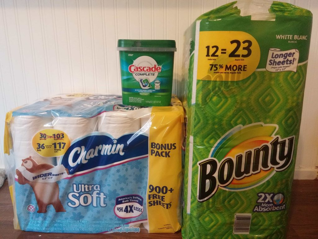 bounty charmin costco