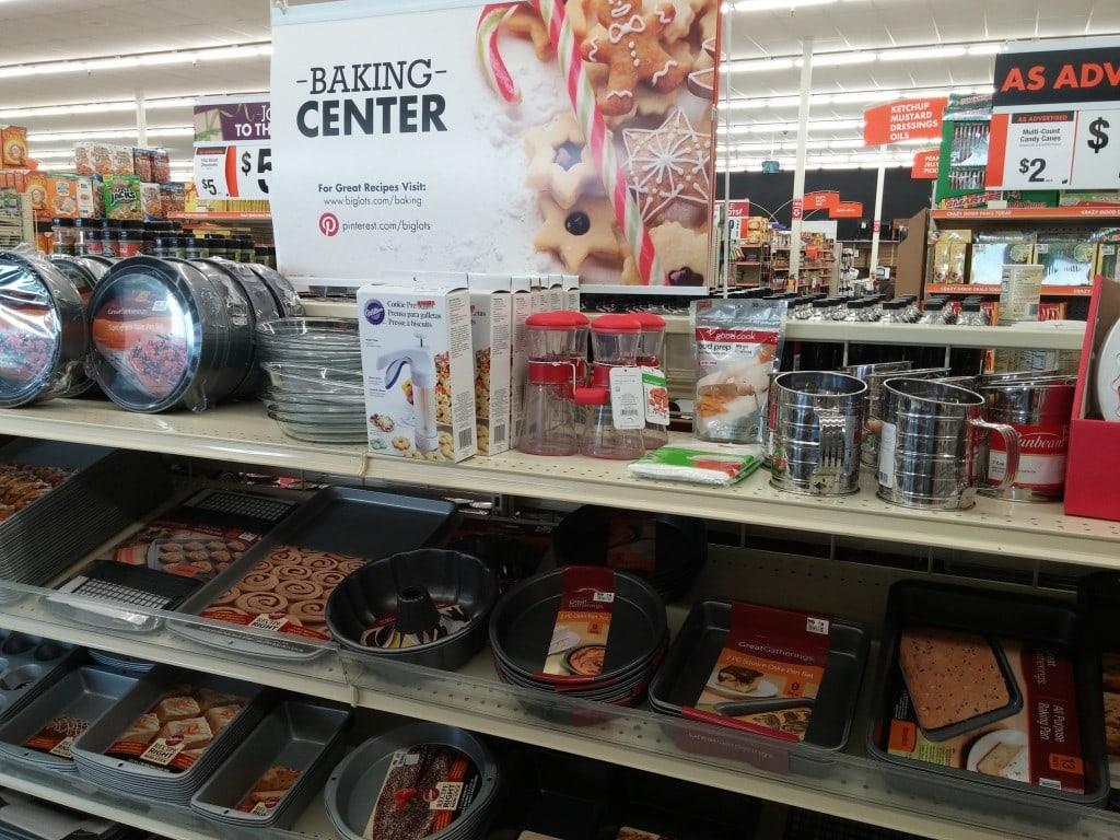 big lots baking supplies