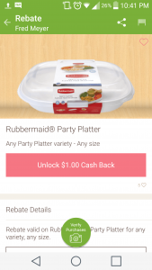Ibotta Rubbermaid Rebate