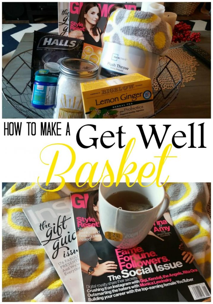 How to Make a Get Well Basket