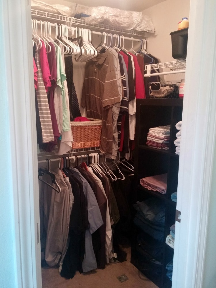 space saver closet organization