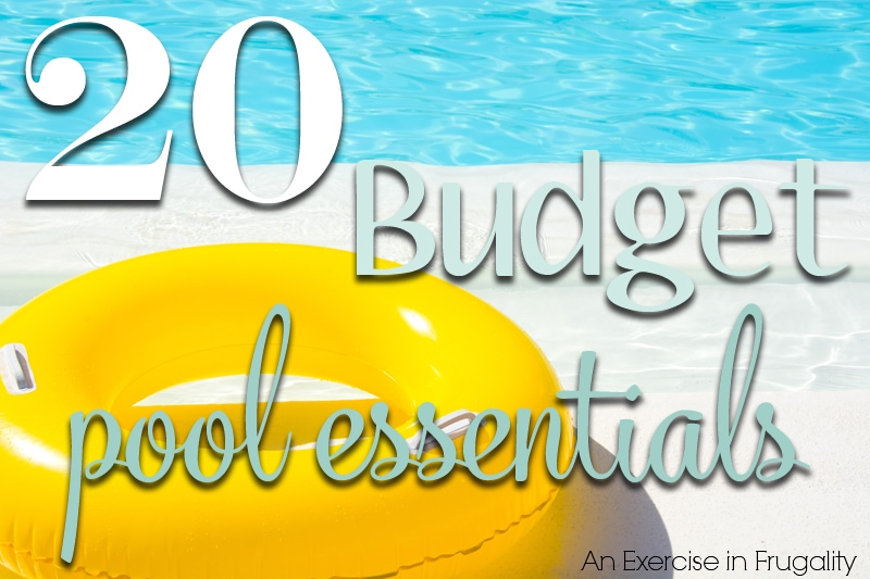 budget pool beach essentials