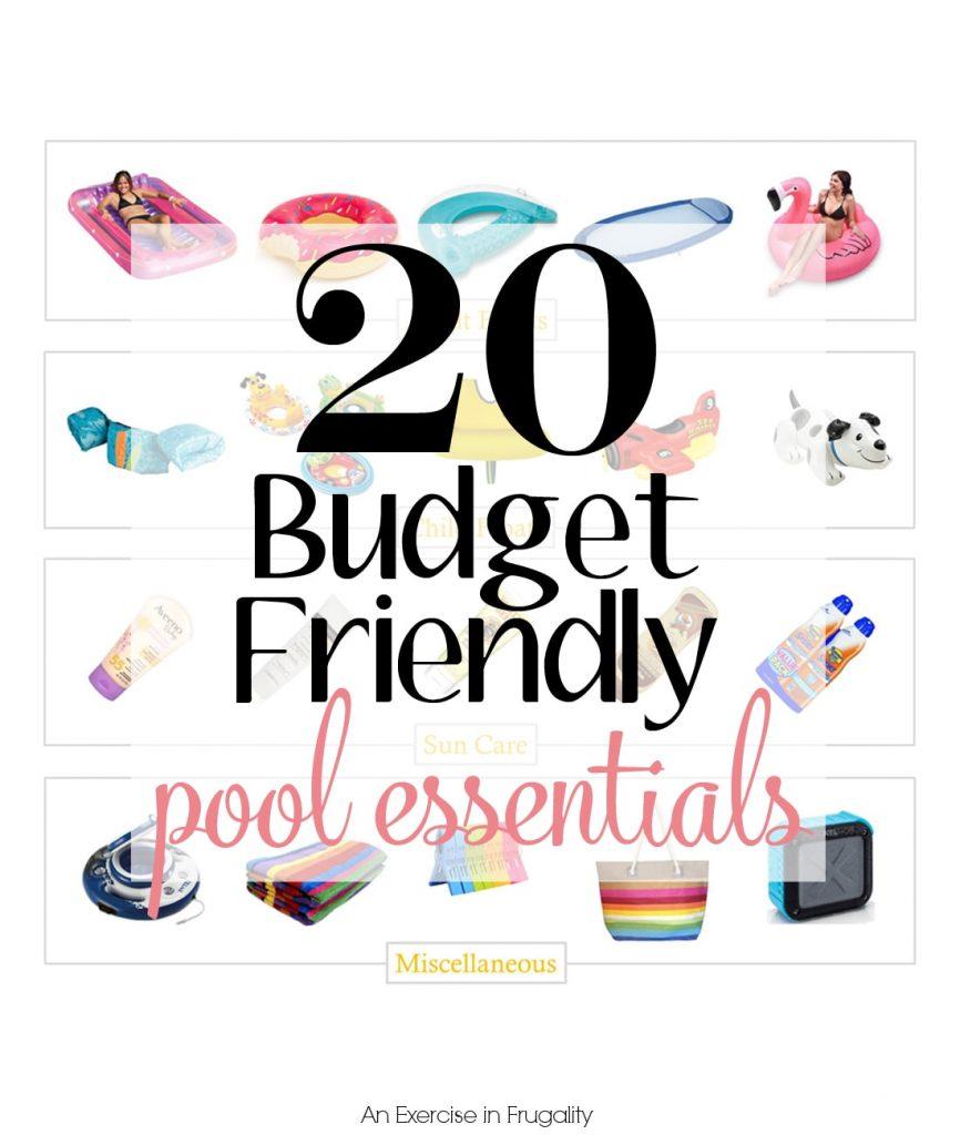 Budget Friendly Pool Essentials